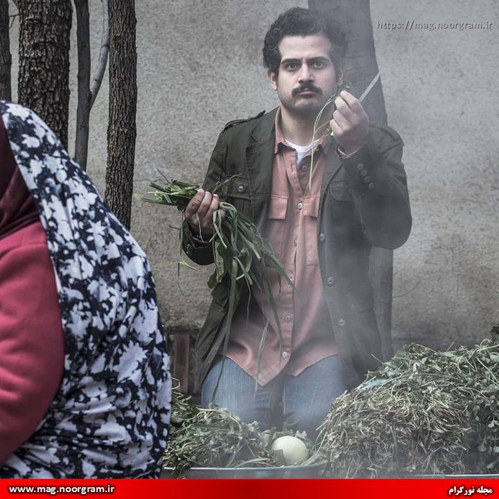مهروز ناصر شریف در سریال باخانمان