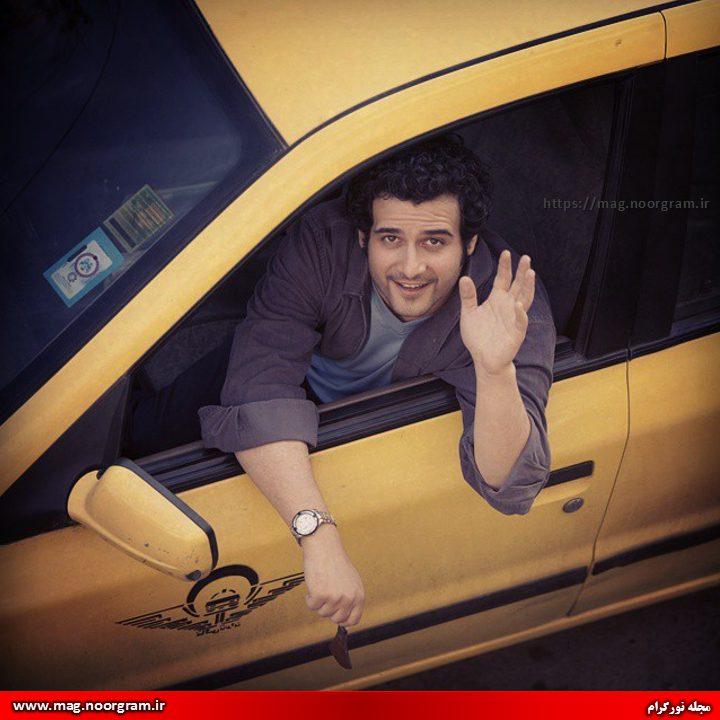 مهروز ناصر شریف سریال راه طولانی