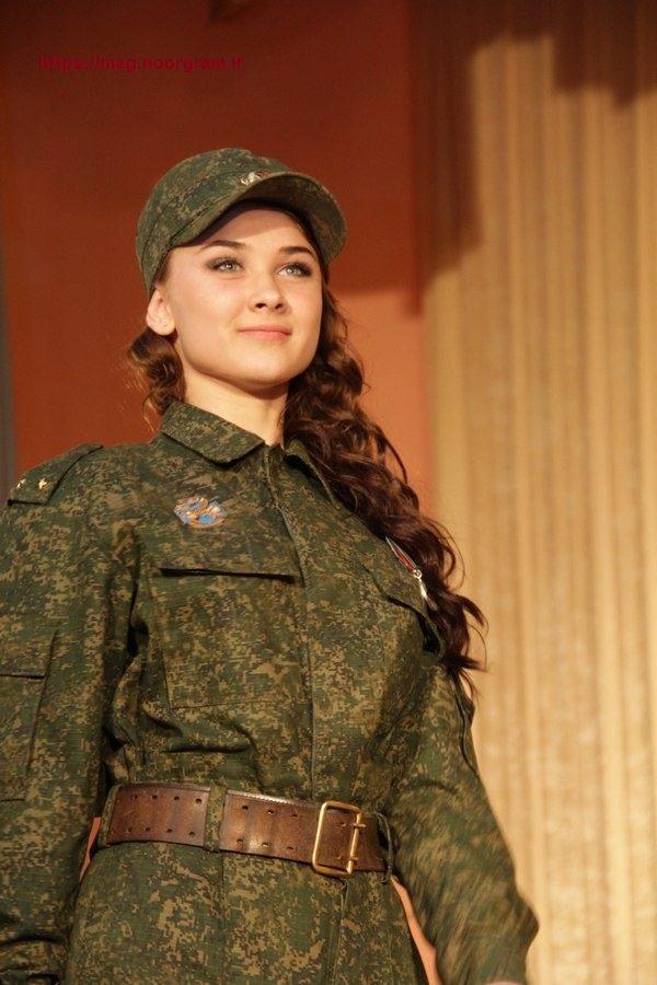 عکس دختر نظامی