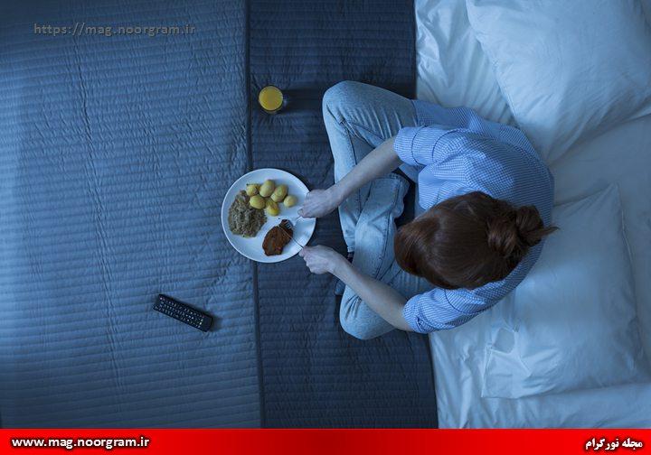 کنترل هوس های نا بجا در خوردن غذا