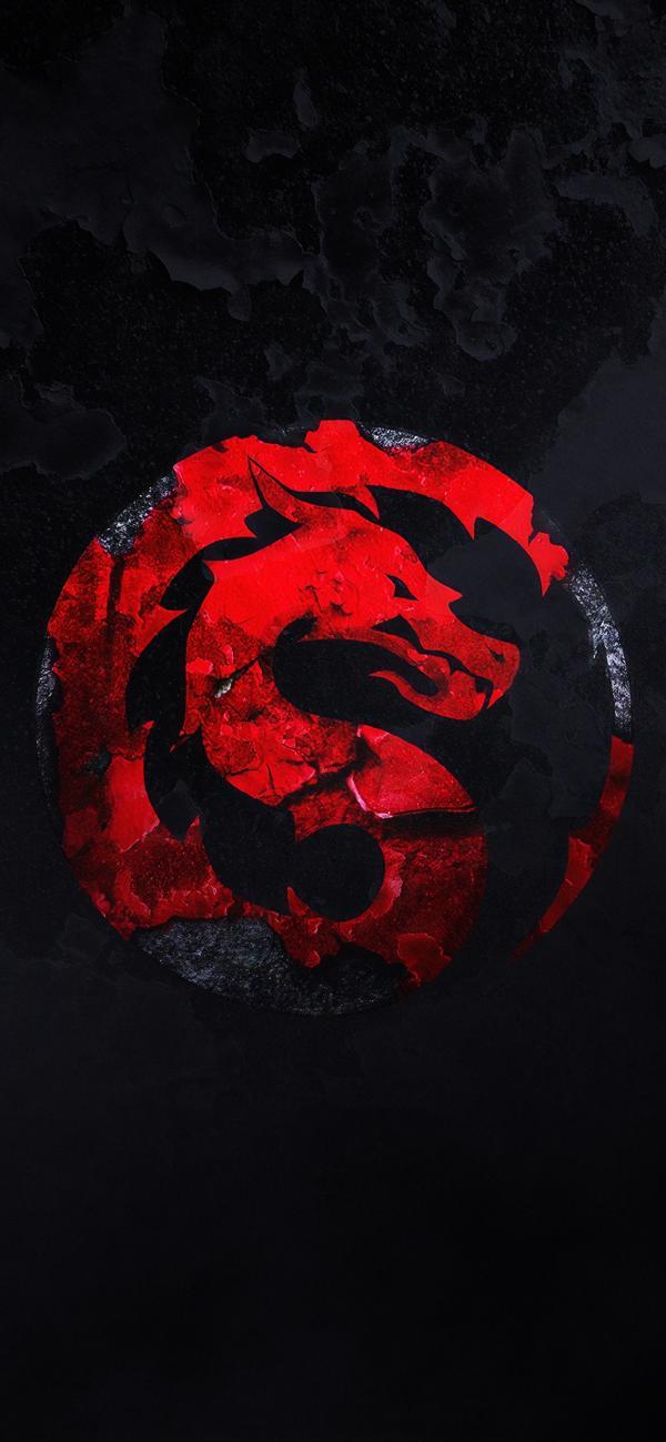 تصویر زمینه قرمز مشکی