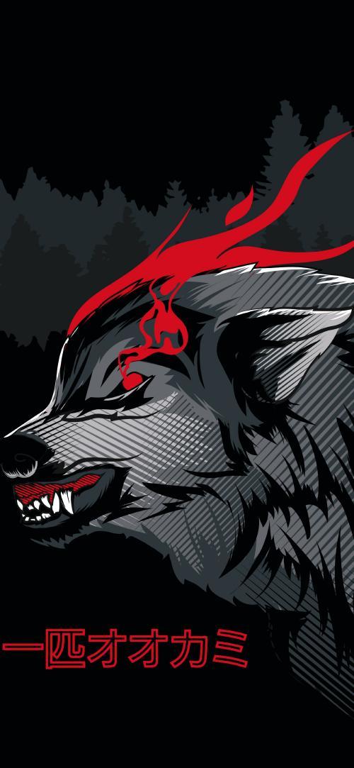 تعبیر خواب گرگ چشم قرمز