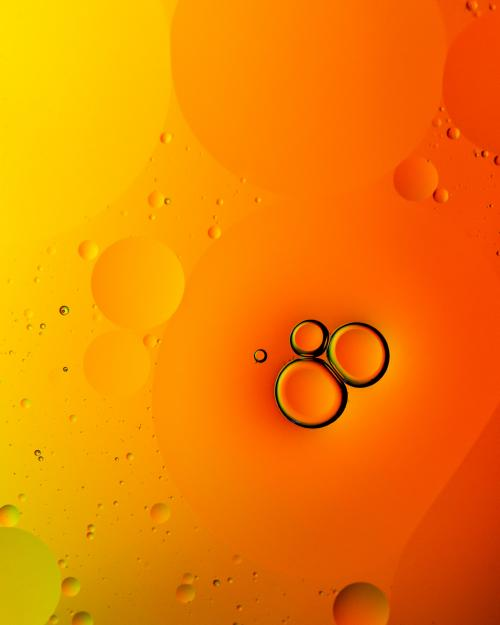 عکس تصویر زمینه نارنجی