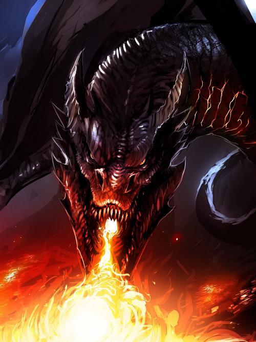 تصویر زمینه اژدها