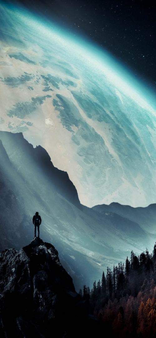 عکس پس زمینه سیاره