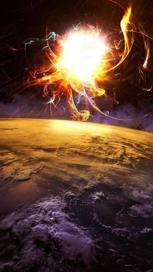 عکس پس زمینه گوشی سیارات