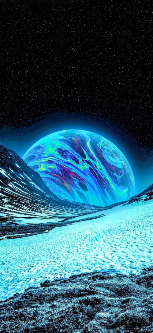 پس زمینه سیارات