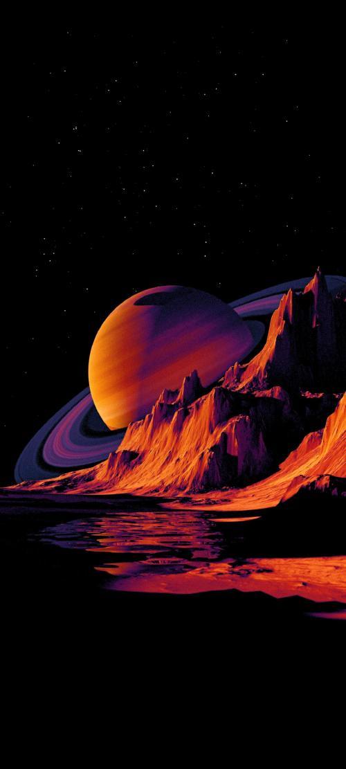 پس زمینه فانتزی فضایی