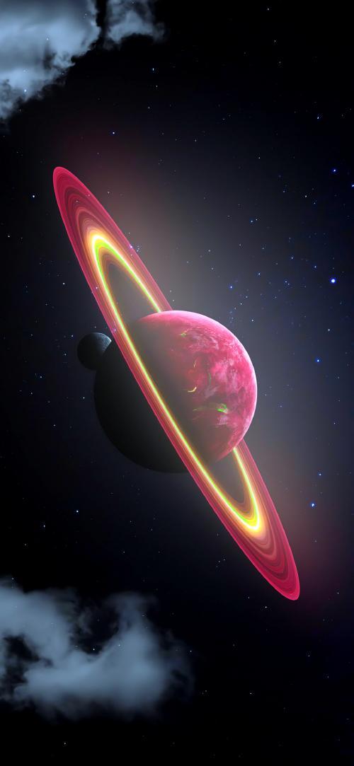 پس زمینه های سیارات